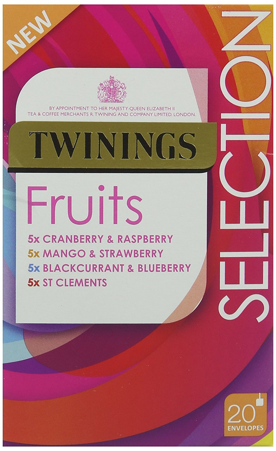 Twinings Fruit selection PK20