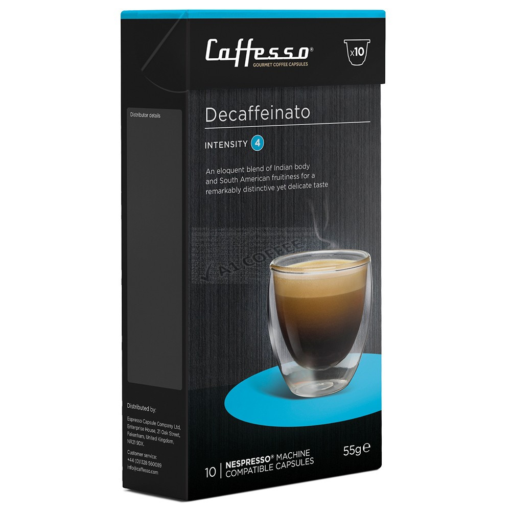 Coffee Decaffeinato Nespresso compatible coffee pods