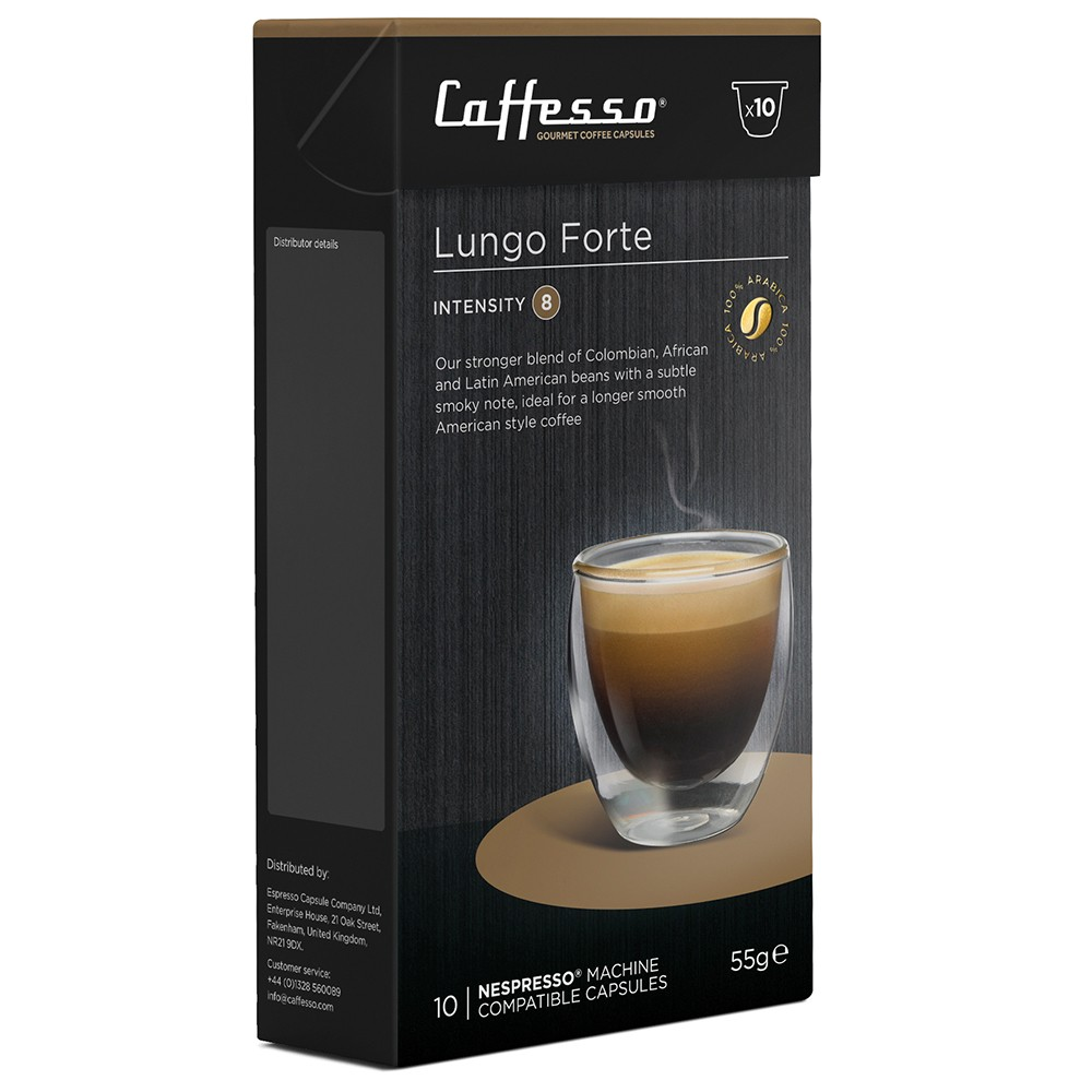 Coffee Lungo Nespresso compatible coffee pods