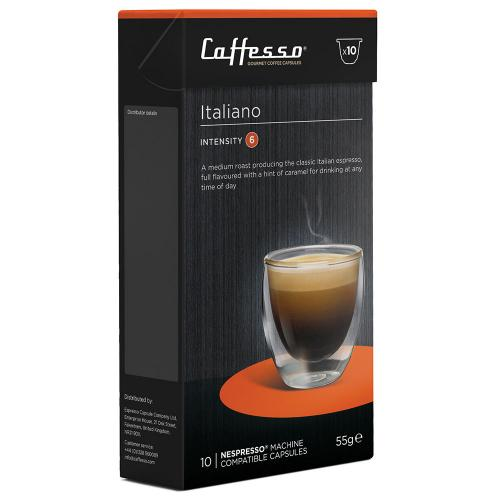 Italiano Nespresso compatible coffee pods