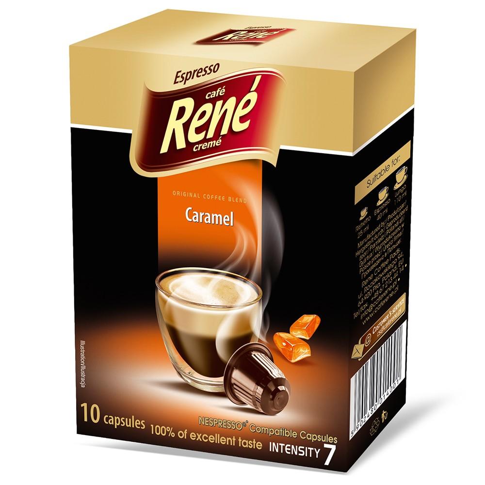 Espresso Caramel Nespresso compatible coffee pods