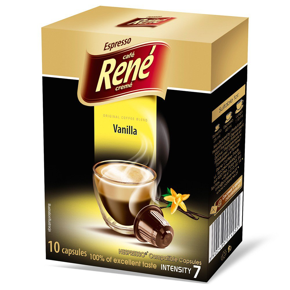 Espresso Vanilla Nespresso compatible coffee pods