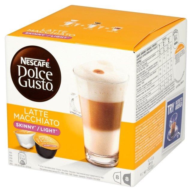 Nescafe Dolce Gusto Skinny Latte 16 capsules (Pack 3)