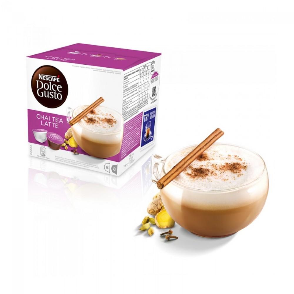 Nescafe Dolce Gusto Chai Tea Latte 16 Capsules