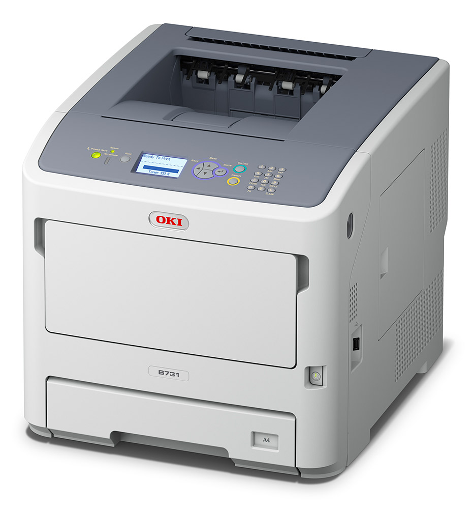 Laser Printers OKI B731DN A4 Mono Wireless Printer