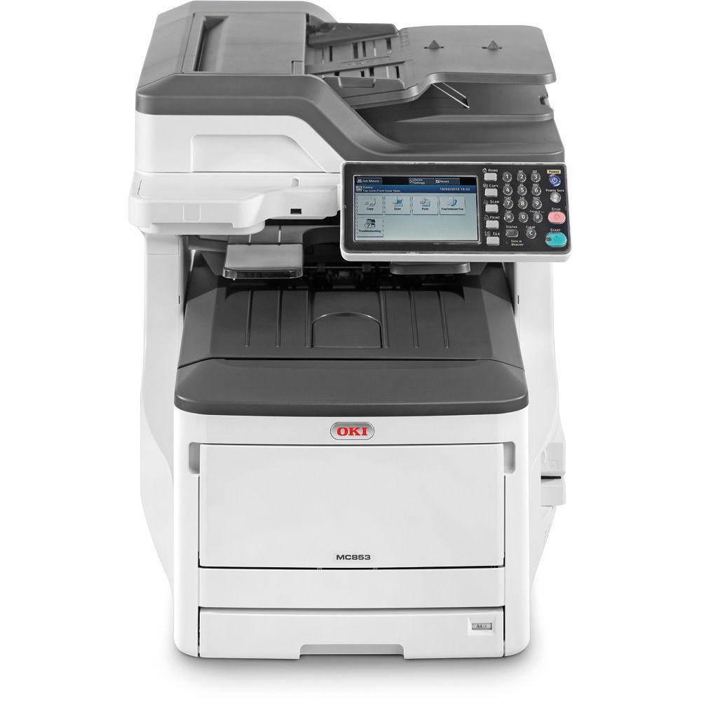 Laser Printers OKI Mc853DN MFP 4 In 1 A3 Colour Network Printer
