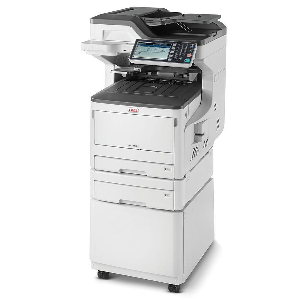 Laser Printers OKI Mc853DNCT MFP 4 In 1 A3 Colour Printer