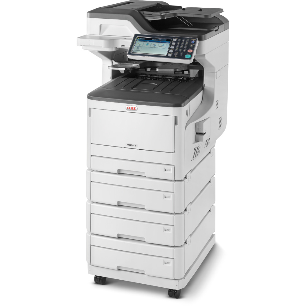 Laser Printers OKI Mc853DNv MFP 4 In 1 A3 Colour Printer