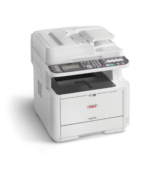 Laser Printers OKI Mb472DNW A4 Mono Wireless MFP
