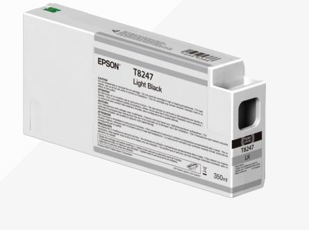 Inkjet Cartridges Epson C13T824700 T8247 Light Black Ink 350ml