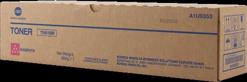Laser Toner Cartridges Konica Minolta A1U9353 TN616M Magenta Toner 41.8K