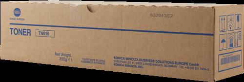 Laser Toner Cartridges Konica Minolta A1U9253 TN616Y Yellow Toner 41.8K