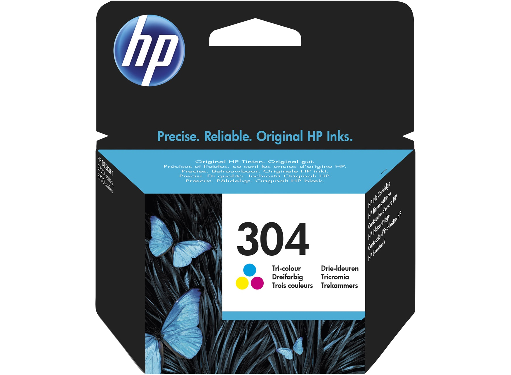 HP 304XL Colour Cartridge N9K07AE