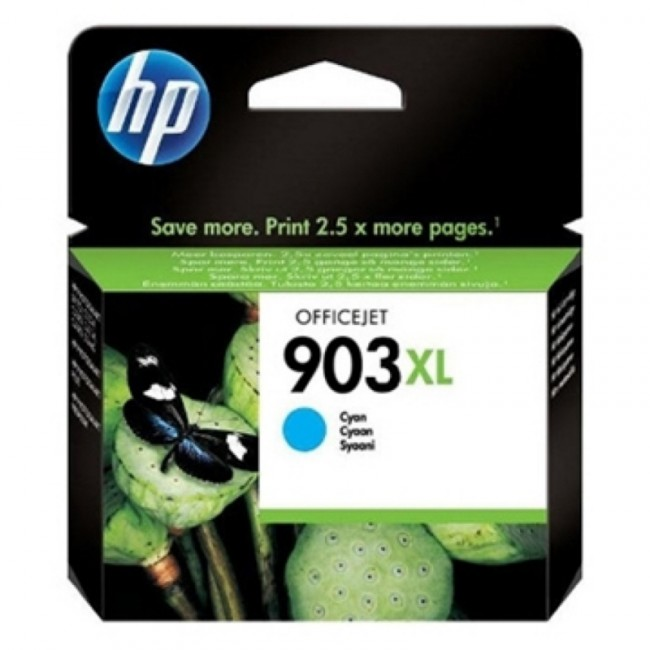 HP No.903XL HY Inkjet Cart Cyan T6M03AE
