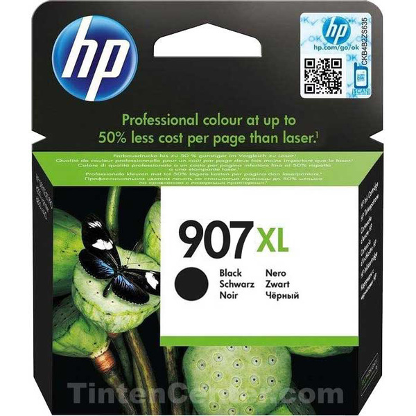 Hewlett Packard [HP] No.907XL Original Ink Cartridge High Yield 1500pages Black Ref T6M19AE