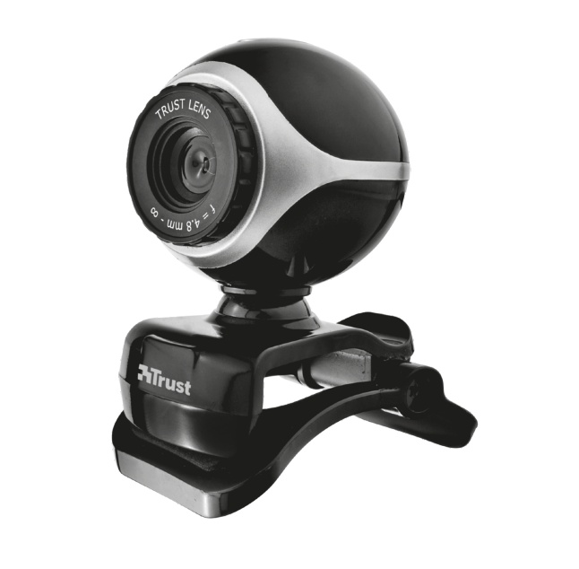 Webcams Trust Exis USB 2.0 Webcam  0.3MP