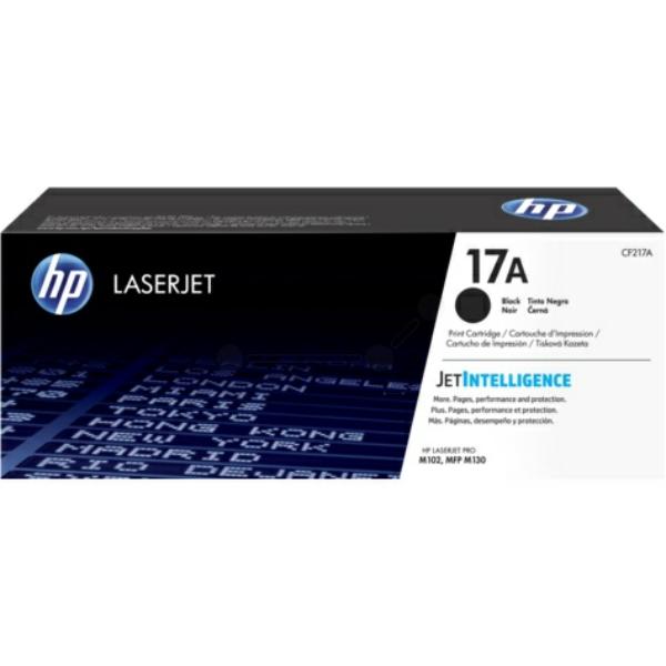 Hewlett Packard [HP] No.17A Toner Cartridge Page Life 1600pp Black Ref CF217A