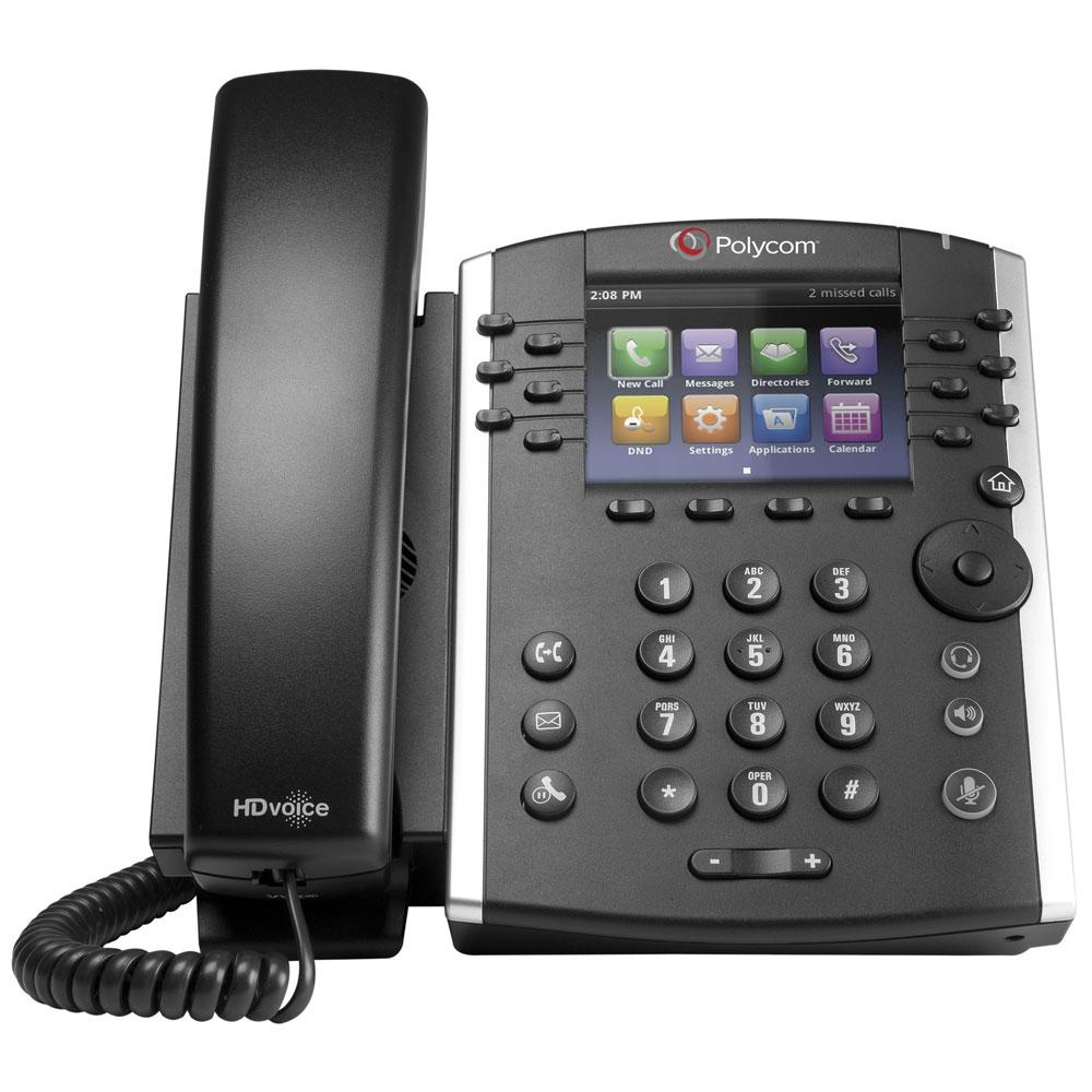 Polycom VVX 400 12 Line Desktop Phone