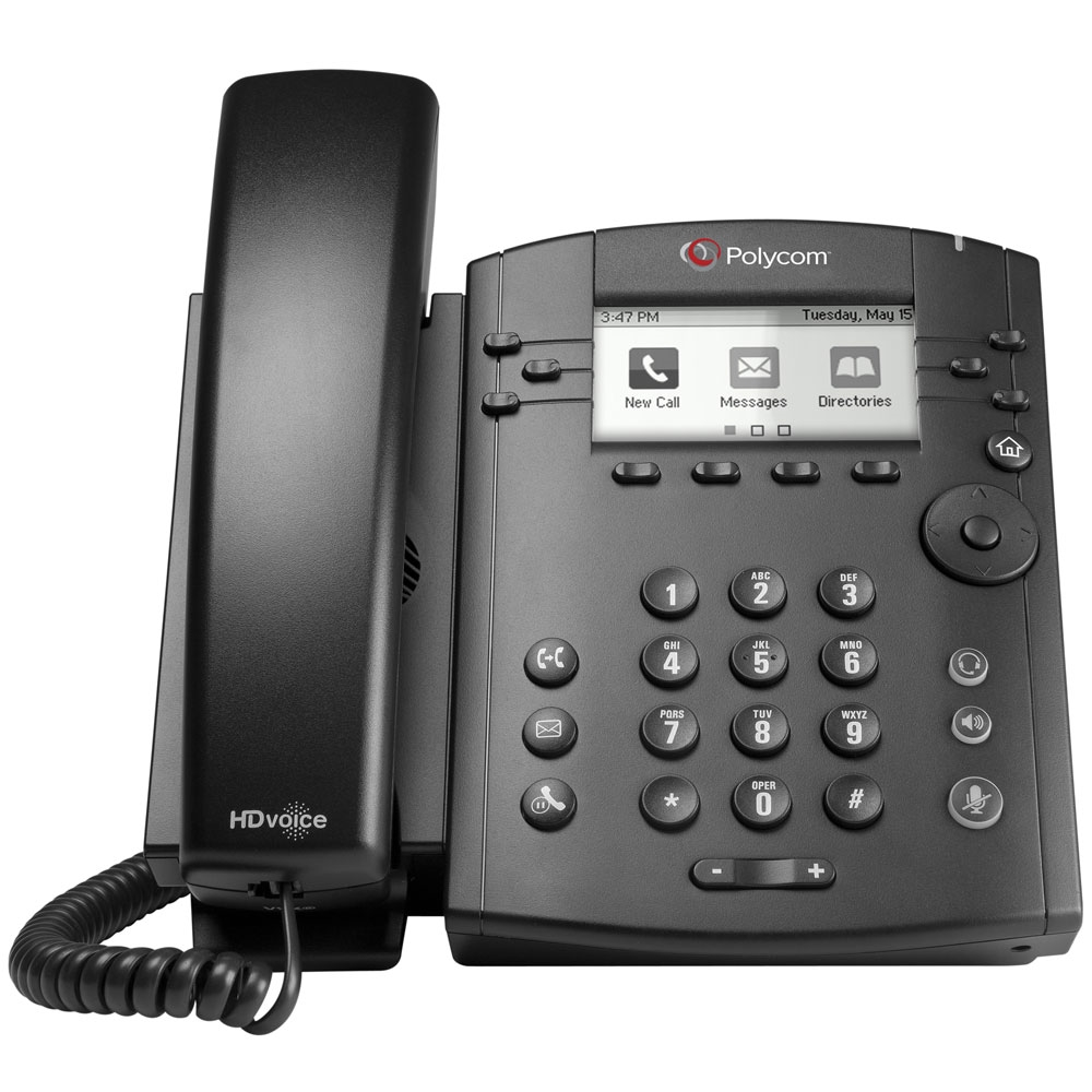 Polycom VVX 310 6-Line Desktop Phone