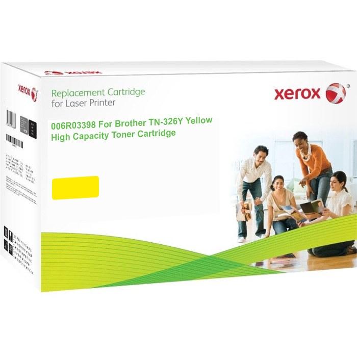 Xerox 006R03398  TN326Y Yellow Toner