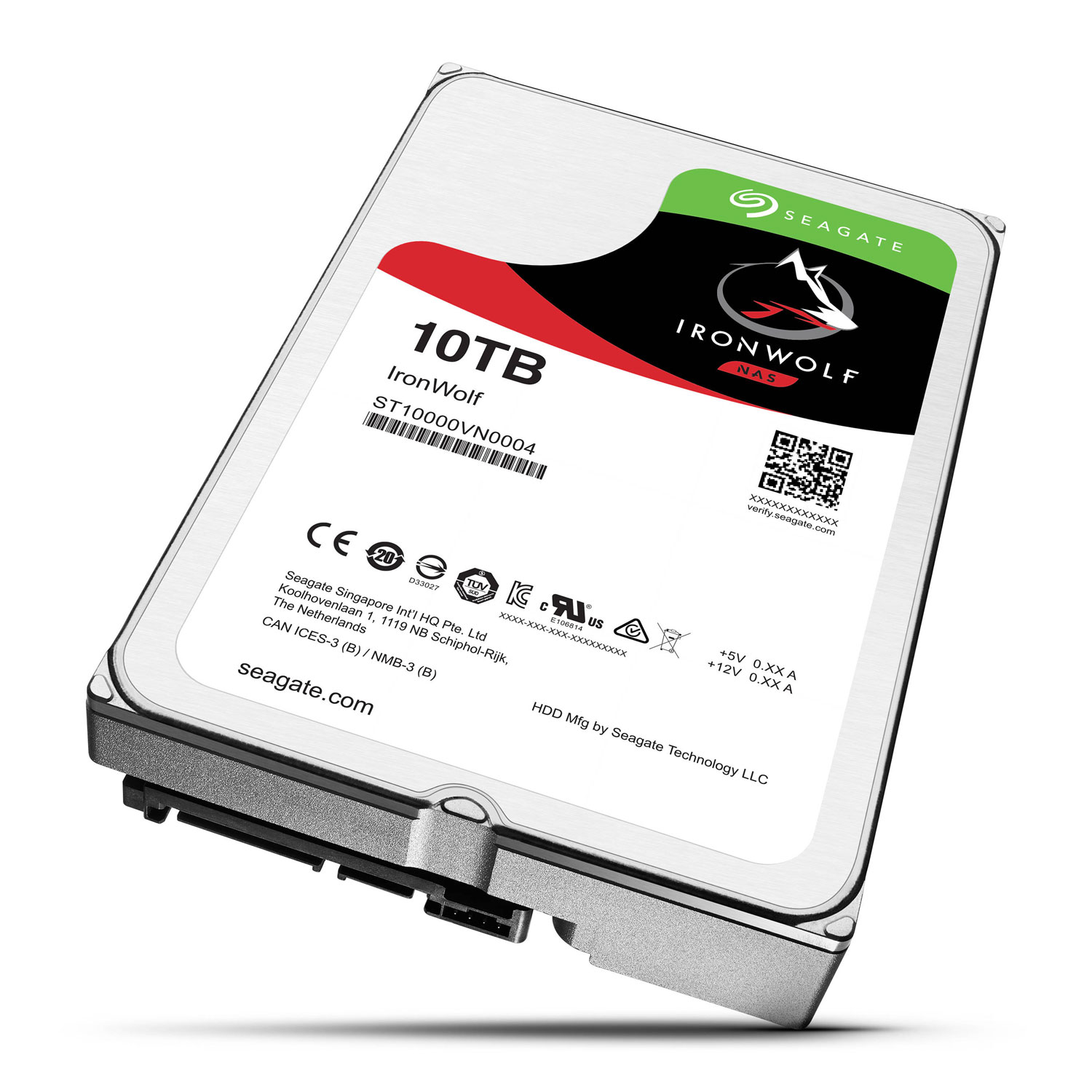 10TB Int IronWolf SATA 3.5