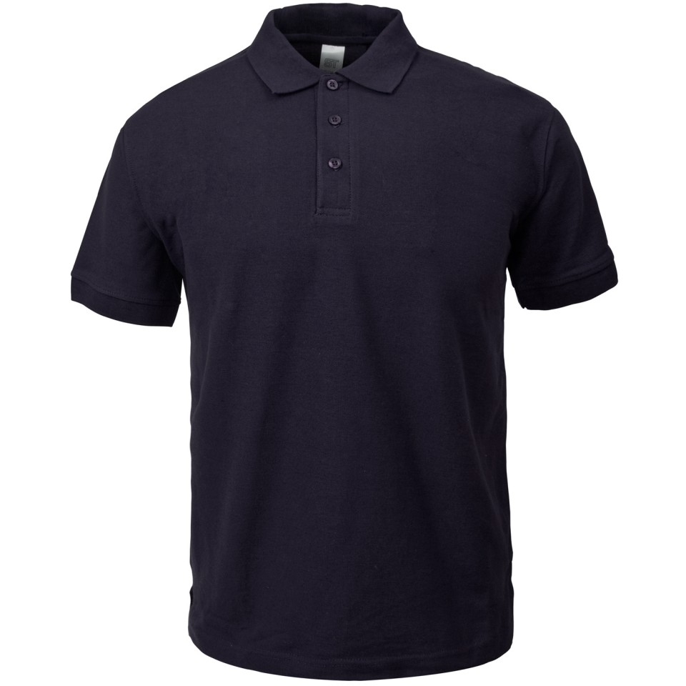 Image for Supertouch Polo Shirt Classic Polycotton Extra Large Black Ref 56CA4 Approx 3 Day Leadtime
