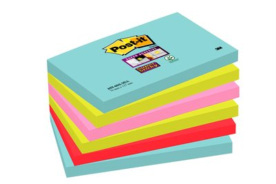 Post-It SS Miami 76x127mm PK6