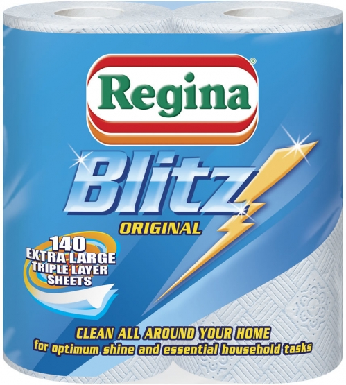 Regina Blitz 3 Ply 3 for 2 Pack Each