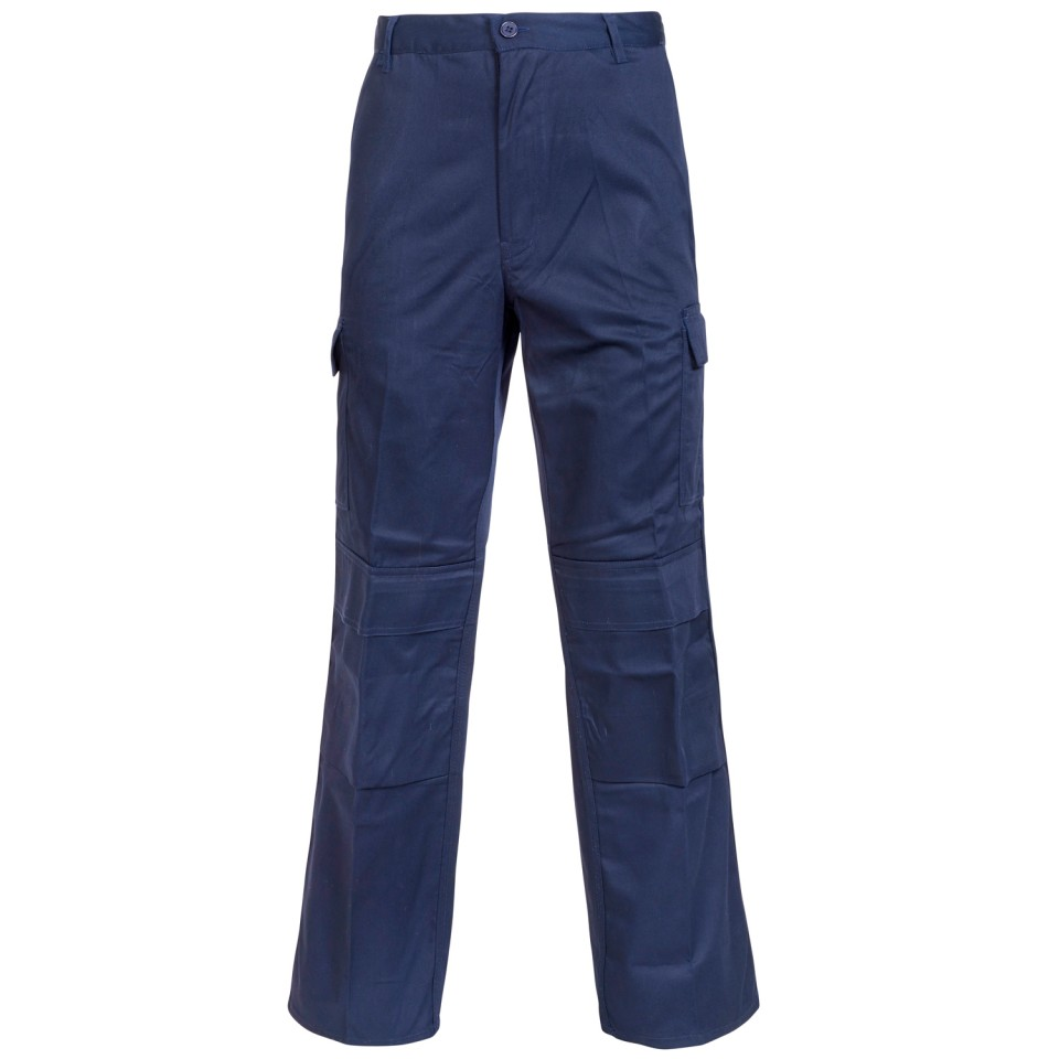 Image for Combat Trousers Reg. Blue 34Inch 18JN4