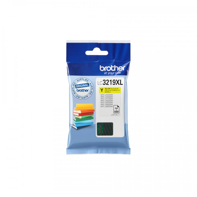 Brother BK HY Yellow Cartridge LC3219XLY