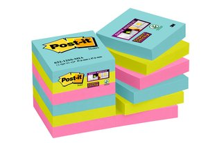 Post-It SS Miami 47.6x47.6mm PK12