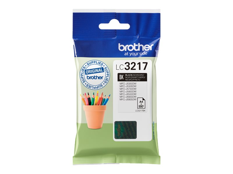 Brother LC3217BK Black Inkjet Cartridge