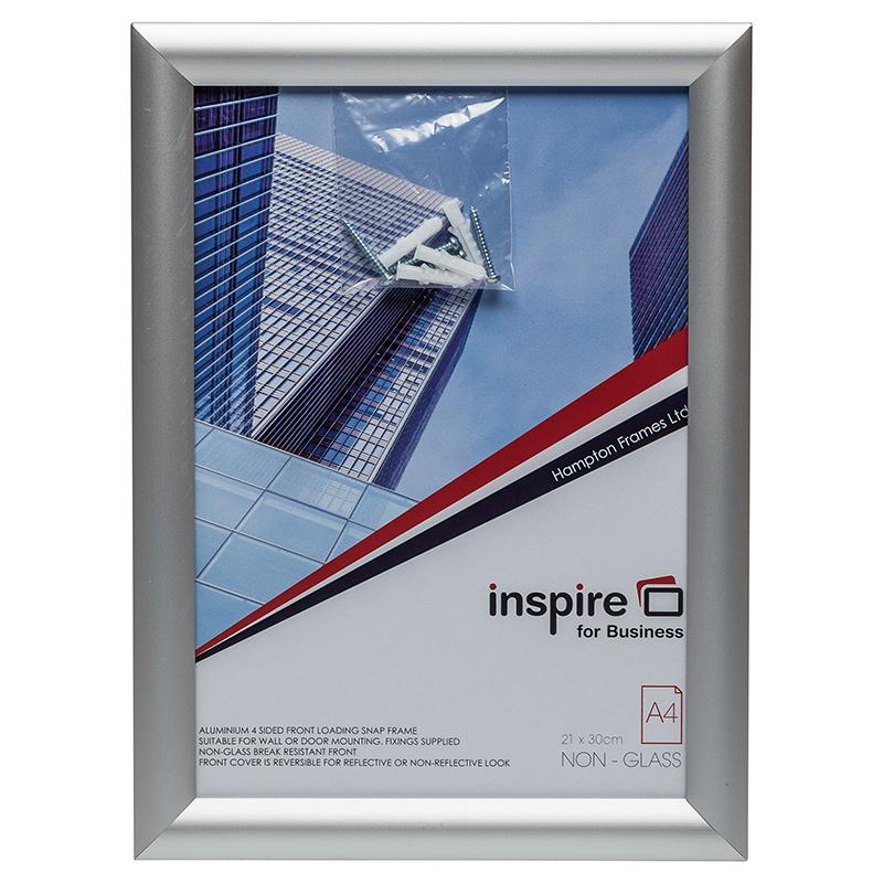 Inspire for Business A4 Aluminium Snap Frame