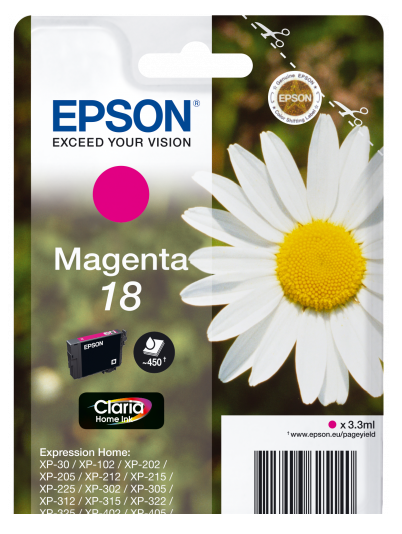 EpsonClaria18 InkcartMag C13T18034012