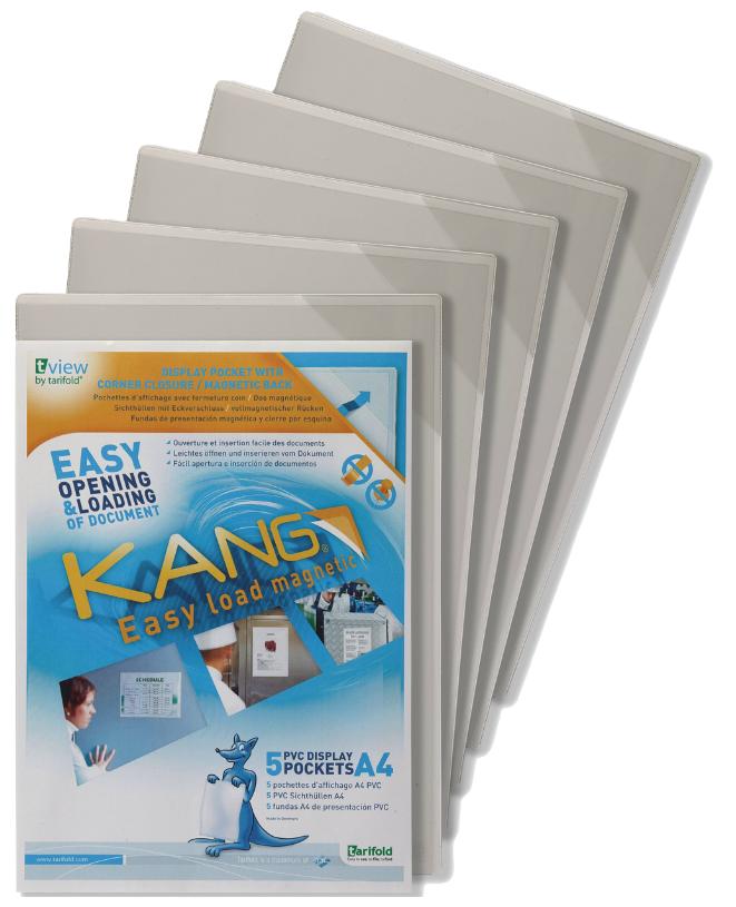 Tarifold Kang A4 Magnetic Pockets PK5