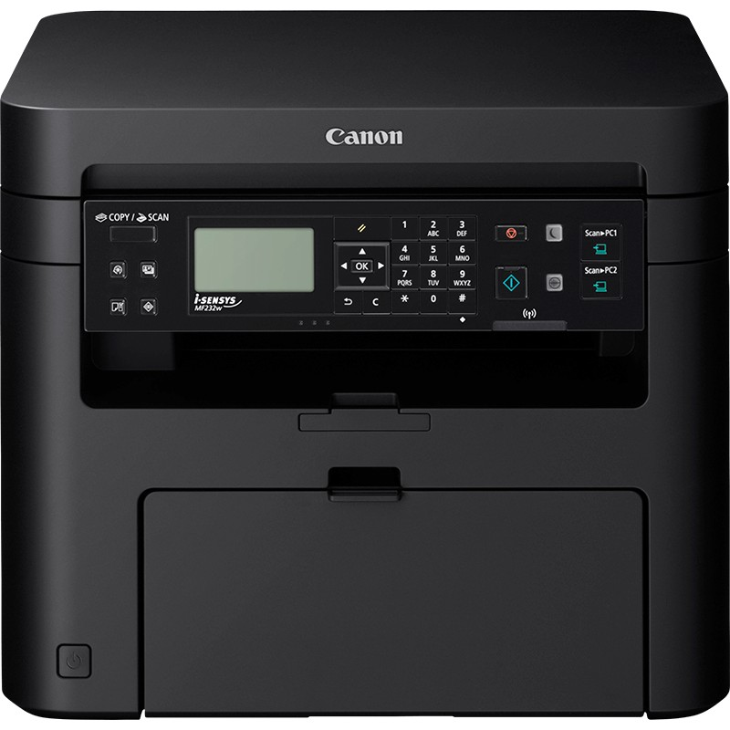 Multifunction Machines Canon MF237W A4 Mono Laser MF Printer