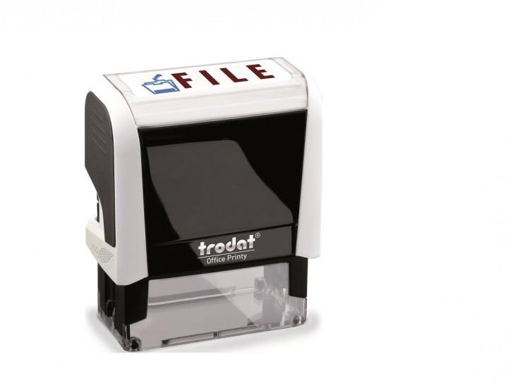 Trodat Office Printy 4912 White FILE