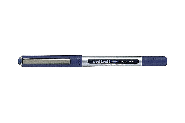 Uni-Ball UB-150 Eye Micro Fine Blister Blue PK3