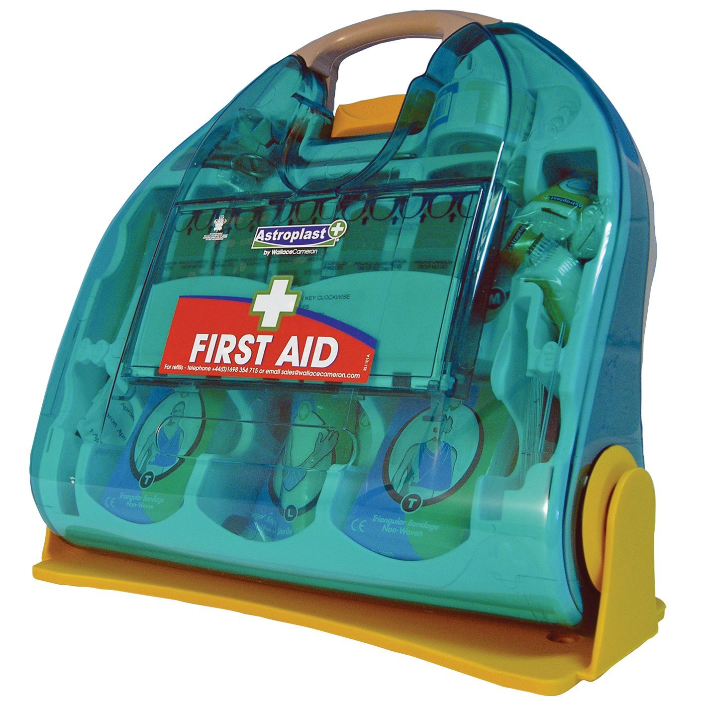 Astroplast Adulto HSE 50 person First Aid Kit Ocean Green