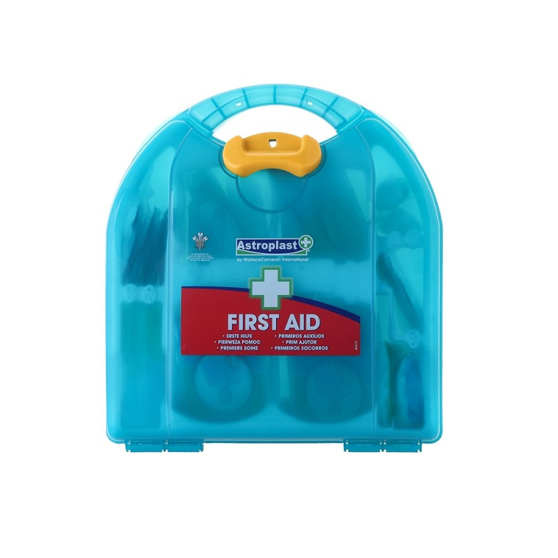 Astroplast Mezzo HSE 10 person First Aid Kit Ocean Green