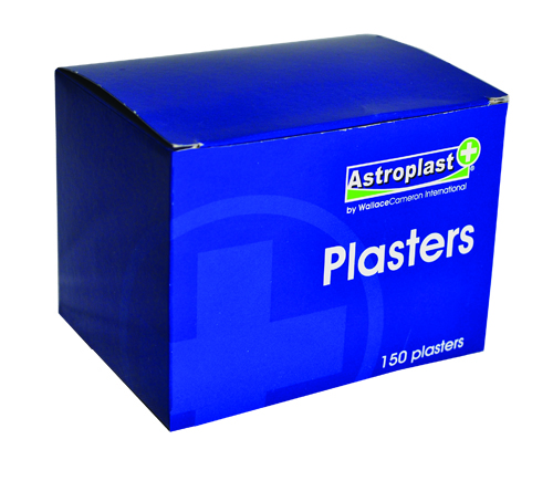 Astroplast Plasters Flesh Colour Fabric Assorted Sizes PK150