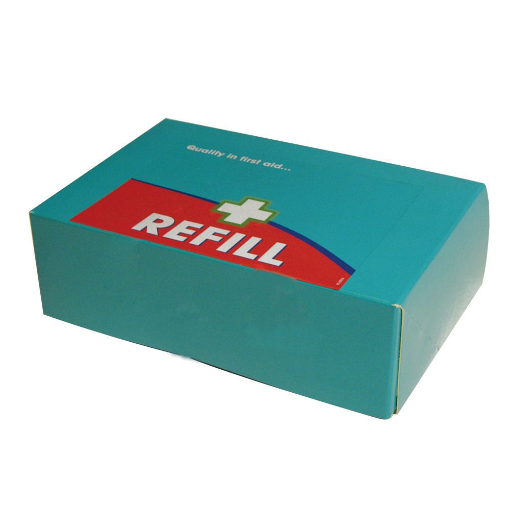 Astroplast First Aid Kit Refill 50 person Aqua