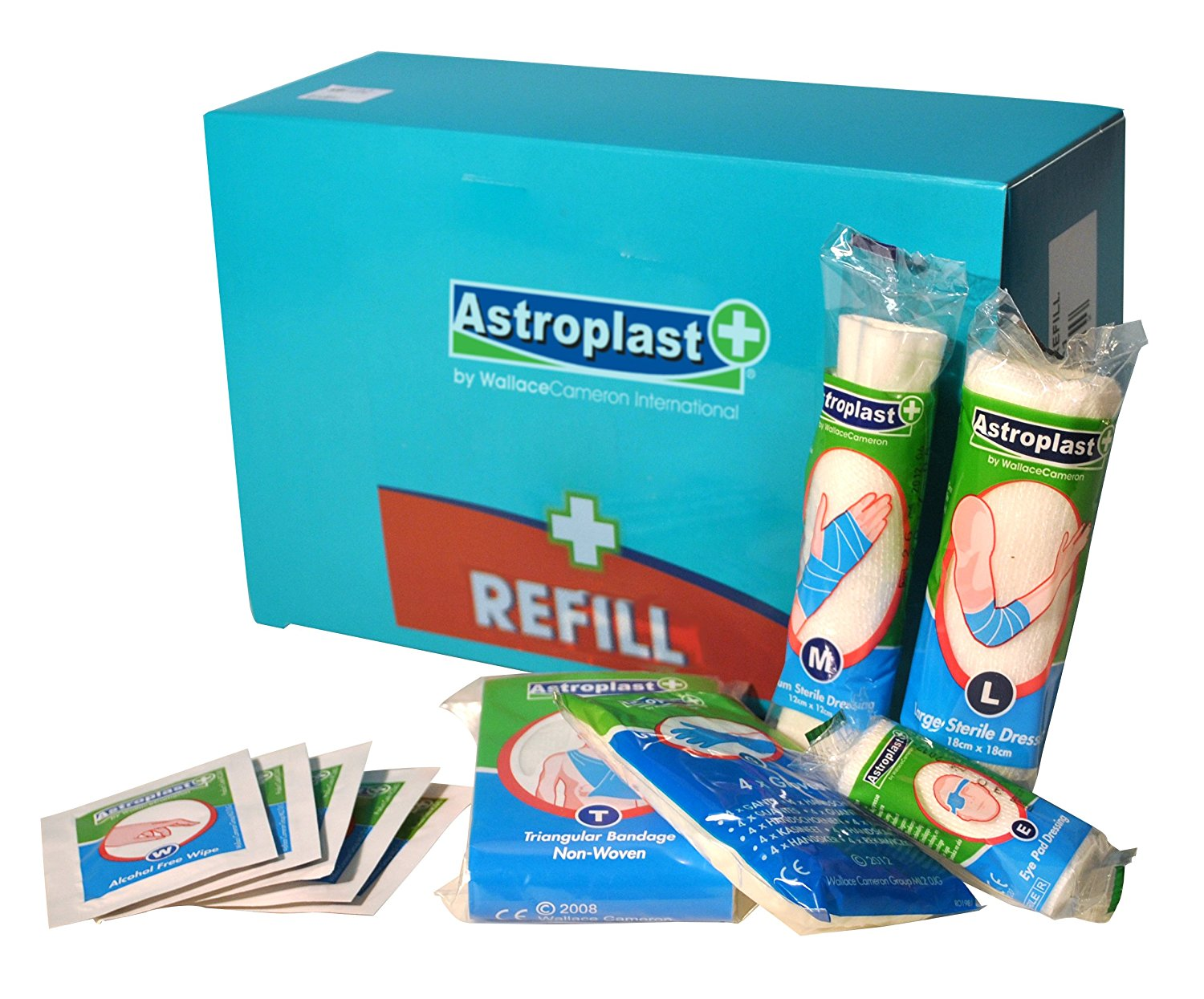 Astroplast Food & Hygene Kit Refill 10 person Aqua