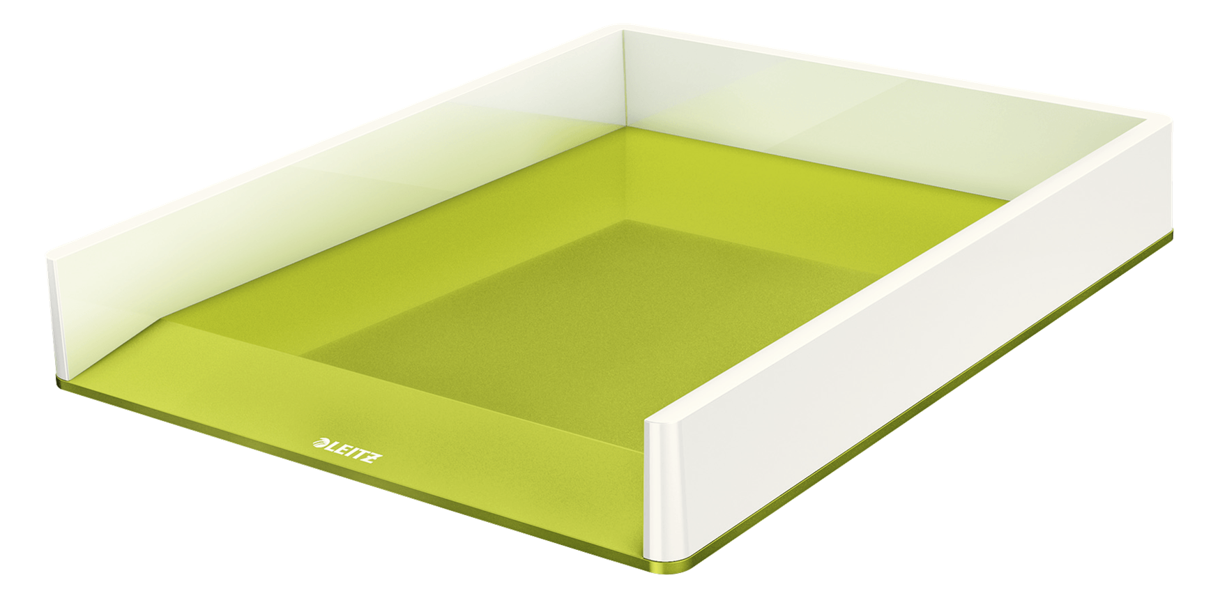 Leitz WOW Duo Colour Letter Tray A4 Green 53611064 (PK1)