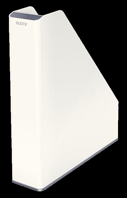 Leitz WOW Duo Colour Magazine File A4 White 53621001 (PK1)