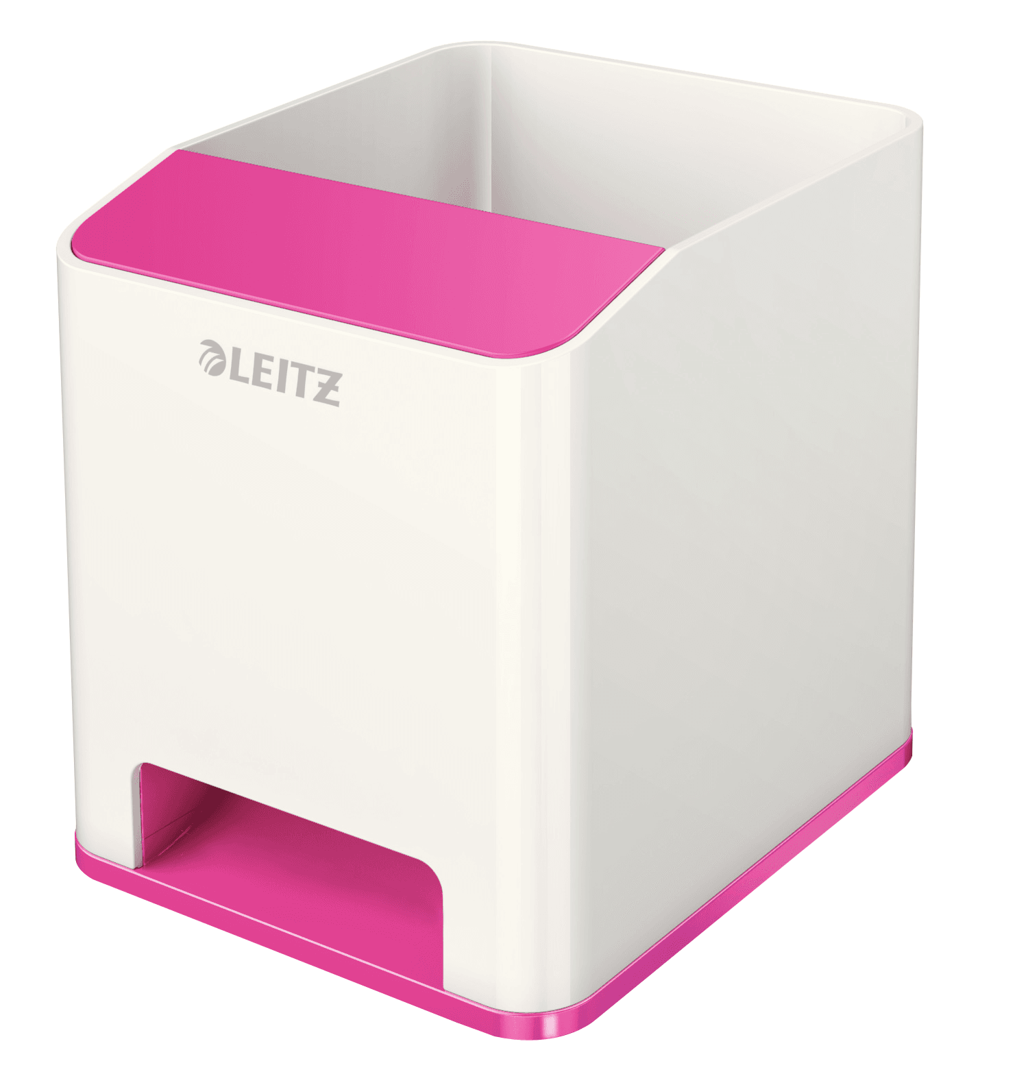 Leitz WOW Duo Colour Sound Pen Holder Pink 536310023 (PK1)