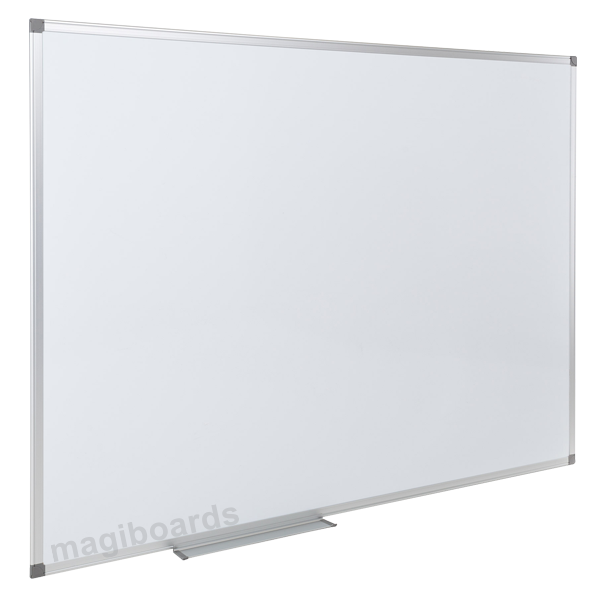 Magnetic Magiboards Slim Aluminium Frme Mgnetic Whitebrd 2400x1200