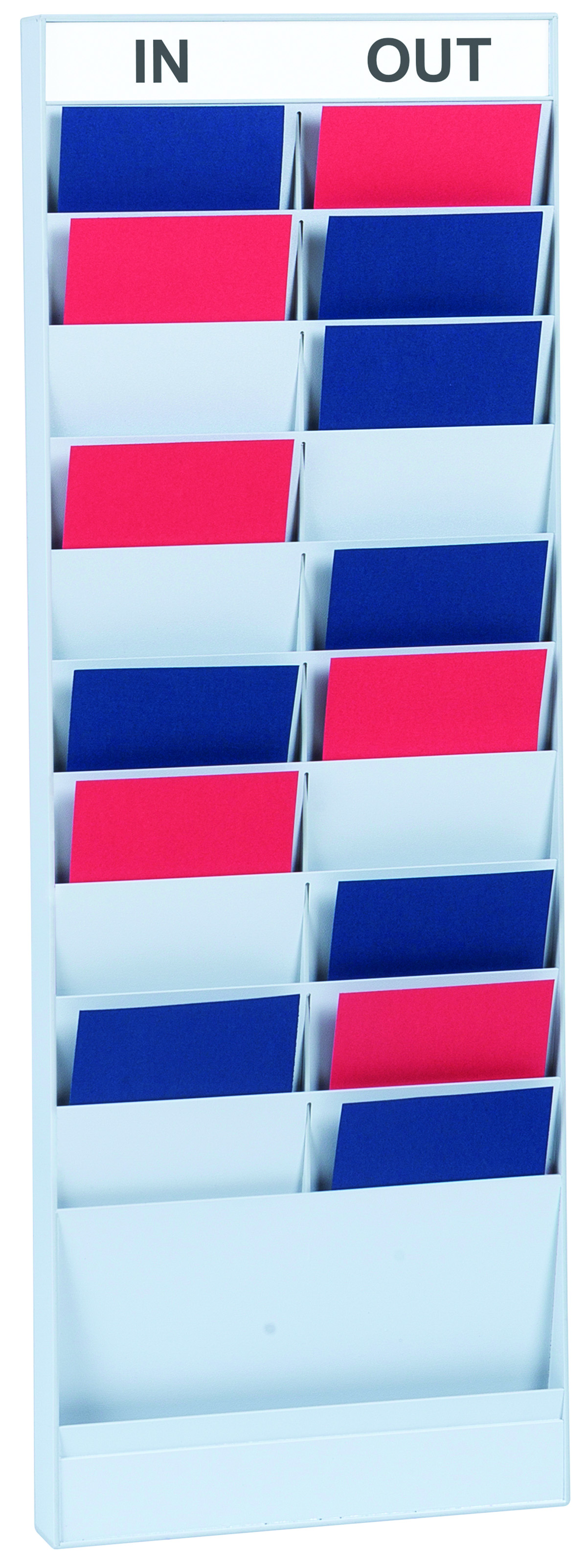 Literature Holders Fast Paper A5 20 Compartment Document Planner Add-On