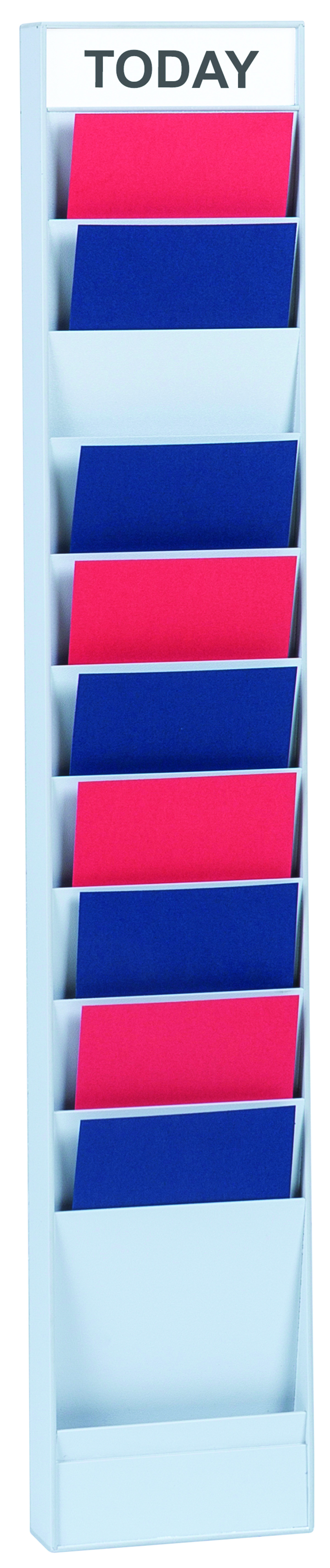 Literature Holders Fast Paper A5 10 Compartment Document Planner Add-On