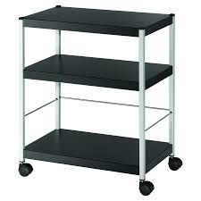 Mobile 3 Shelf Trolley Medium
